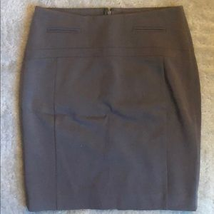Brown Pencil Skirt | Express